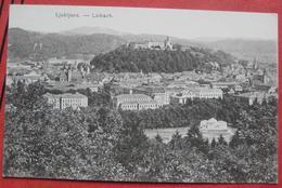 Ljubljana / Laibach - Panorama 1910? - Slowenien