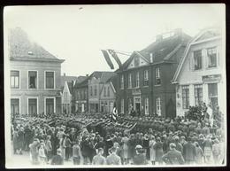 WW II Foto 16,5 X 12 Cm: Wahl Veranstaltung In Esens Ostfriesland 1933, Seltenes SA Foto. - Deutschland