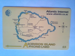 252CASA  Atlantis Internet 5 Pounds - Isole Ascensione