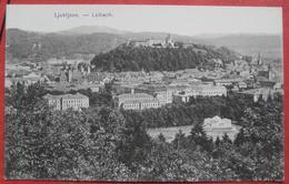 Ljubljana / Laibach - Panorama 1915? - Slowenien