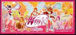 Cartina Istruzioni Kinder ' Winx' (Fronte E Retro) - Notices