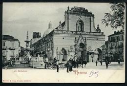 Messina - La Cattedrale - Non Viaggiata 1905 - Rif.15698 - Messina