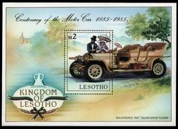 Lesotho 1985 - Mi-Nr. Block 26 ** - MNH - Autos / Cars - Lesotho (1966-...)