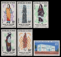 Niger 1963 - Mi-Nr. 46-51 ** - MNH - Trachten / Costumes - Niger (1960-...)