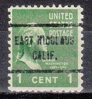 USA Precancel Vorausentwertung Preo, Locals California, East Nicolaus 713 - Vorausentwertungen