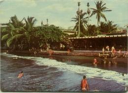COSTA RICA - CABINAS EN PLAYAS DEL COCO - GUANACASTE - RED POSTMARK 1975 (BG2012) - Costa Rica