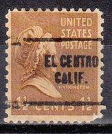 USA Precancel Vorausentwertung Preo, Locals California, El Centro 704 - Vorausentwertungen