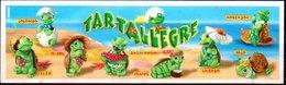 Cartina Istruzioni Kinder 'Tartallegre' (Fronte E Retro) - Instructions