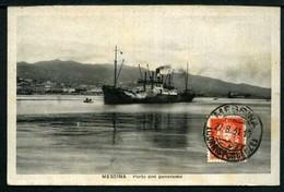 Messina - Porto Con Panorama - Non Viaggiata 1931 - Rif.09147 - Messina