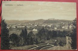 Ljubljana / Laibach - Panorama Tivoli Park 1920 - Slowenien