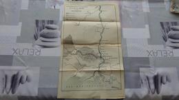 """Carte De La Compagnie Des Chemins De Fer D""""Alais (Gard) Au Rhône Et à La Méditerranée - Cartes"""