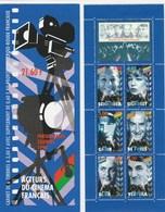 Acteurs Du Cinéma Français 1998 - YT N° BC 3193 - Mi FR MH 48 Bourvil, Signoret, Romy Schneider, De Funes, Blier Ventura - Bekende Personen