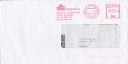 N0566 - Czech Rep. (2004) 530 02 Pardubice 2: CSOB (logo) Insurance Company; Letter; Tariff: 6,50 CZK - Usines & Industries
