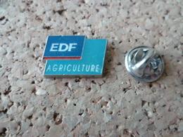 PIN'S    EDF  AGRICULTURE - EDF GDF