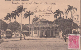 CPA  Brésil/ Brasil - Manãos - Pavilhão Universal - Place Du Commerce - 1919 - Manaus