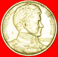 # YEAR=TYPE: CHILE ★ 1 PESO 1975! LOW START ★ NO RESERVE! Bernardo O'Higgins (1778-1842) - Chile