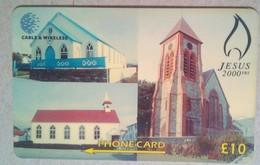 314CFKB Jesus 2000  10 Pounds - Falkland Islands