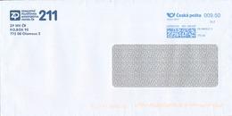 N0568 - Czech Rep. (2017) 772 00 Olomouc 2 (franking Machine); Letter; Tariff: 9,50 CZK - Czech Republic