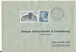 Luxembourg: 784 Sur Lettre (Siège Social De L'ARBED - Sidérurgie) - Usines & Industries
