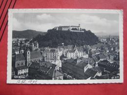 Ljubljana / Laibach - Panorama / OKW Zensur - Slowenien