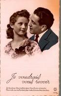 COUPLE  JE VOUDRAIS VOUS REVOIR - Couples