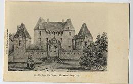 Du Bosc à La Plume: Château Du Sacq ( Mesnil Gondouin) - 55 édit. Nugues - Otros Municipios