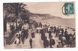 Carte Postale    Le Boulevard - Nizza