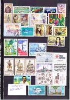 FRANCE TIMBRE DOM TOM COLONIE POLYNÉSIE FRANÇAISE LOT COLLECTION 4 SCANS - Polynésie Française