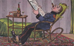 GERMAN COMIC CARD - Comics