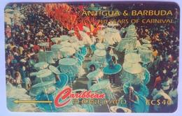 181CATG 100 Years Of Carnival EC$40 - Antigua En Barbuda
