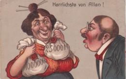 GERMAN COMIC CARD - HERRLCHSTE VON ALLEN - Comics