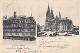 CPA - Köln - Savoy Hotel Früher Hotel Grosser Kurfürst - Dom - Koeln