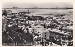 GIBRALTER - BRITISH WARSHIPS IN HARBOUR - Gibraltar