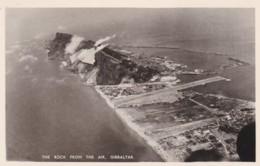 GIBRALTER - THE ROCK FROM THE AIR - Gibraltar
