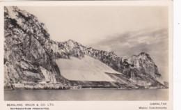 GIBRALTER - WATER CATCHMENTS - Gibraltar