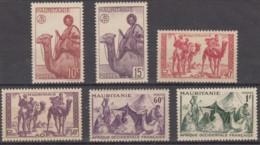 Du N° 125 Au N° 130 - X X - ( C 607 ) - Mauritanie (1906-1944)