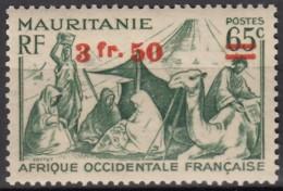 N° 133 B - X - ( C 1463 ) - Barres à Cheval - Mauritanie (1906-1944)