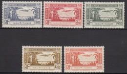 PA N° 1 Au N° 5 - X - ( C 1668 ) - Mauritanie (1906-1944)