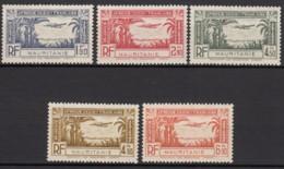 PA N° 1 Au N° 5 - X X - ( C 1670 ) - Mauritanie (1906-1944)