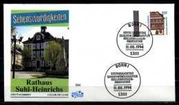 D1815)Bd FDC 1746 Bogenrand - BRD