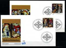 D1843)Bd FDC 1831/2 Weihnachten - BRD