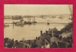 CPA.   Inondations.  Crue De La Loire En Anjou En Janvier 1910 - Inondations
