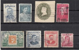 Philippines    Lot De  8 Timbres - Philippines