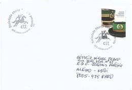 CTT Sociedade Aberta Sempre Presente Carimbo De 1.º Dia Postamt Post Poste Portugal GNR Militar Militärisch Militaire - Poststempel (Marcophilie)