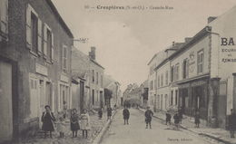 Crespières : Grande Rue - Frankrijk