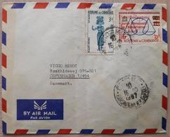 Cambodge Denmark 1967 - Francobolli
