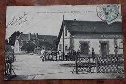 CRANCEY (10) - ENVIRONS DE ROMILLY SUR SEINE - LA GARE - France