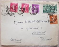 France Denmark 1937 - France