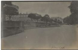 BORDEAUX  -  Le Jardin  -  CARTE PHOTO Située Selon Annotation Manuscripte Au Bas De La Carte - Bordeaux