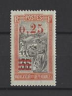 MADAGASCAR. YT   N° 126A  Neuf *  1921 - Madagascar (1889-1960)